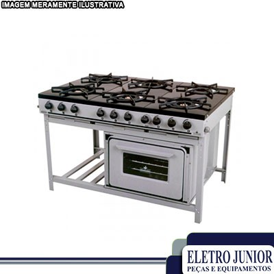 Fornecedores de fogões industriais