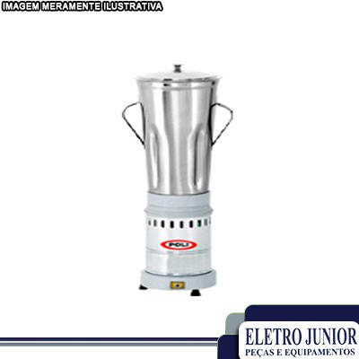 Liquidificador para cozinha industrial